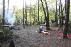 Big Shoals camp