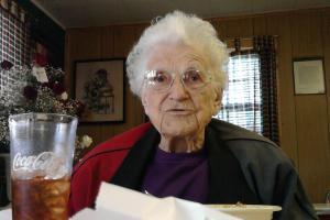 at 95